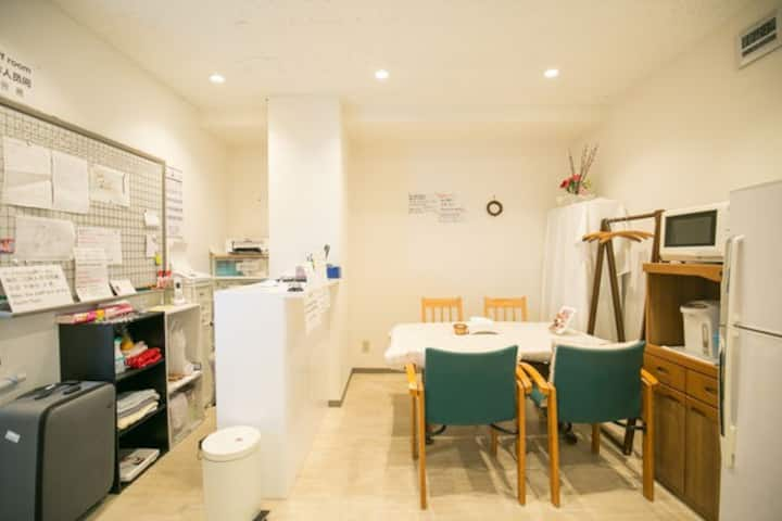 Good location namba to 5minutes 123guest house2