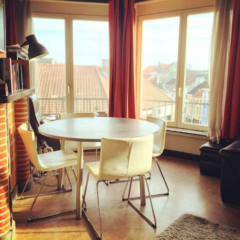 Central, clean and fully equipped. - Gent - Apartment