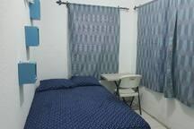Hab. Climatizada, cama Matrimonial, 1 o 2 personas.