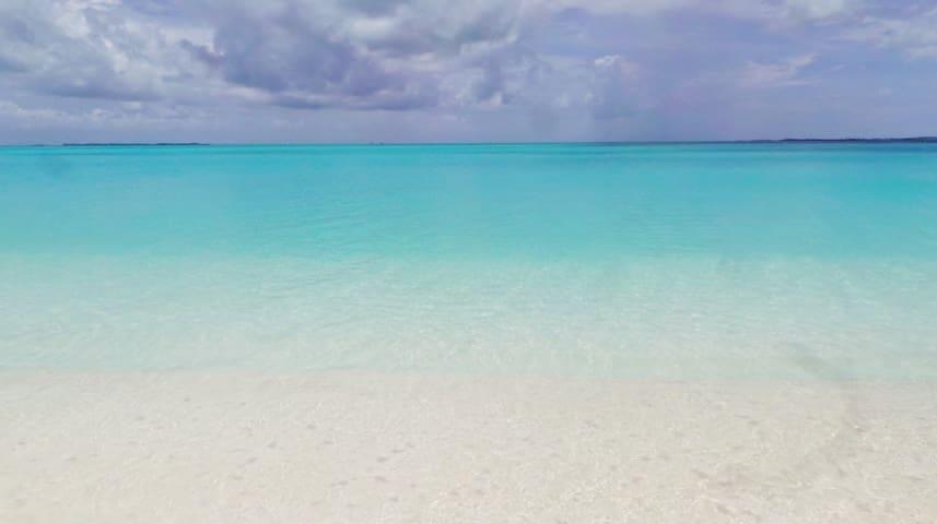 Beach Villa . 2 Bedrooms. Best views. Sugar Sands. - Central Abaco - Villa