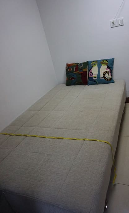 This will be the bed. Never been used as bed before i will provide blanket and pillow.