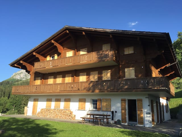 Ferienwohnung mit Einstellhallenplatz, Axalp BE - Brienz - Wohnung