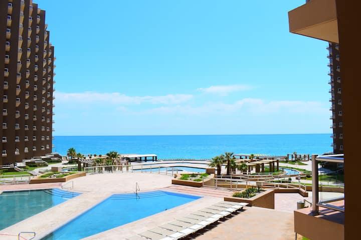 Luxury Condo Las Palomas Resort at Sandy Beach