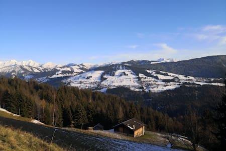 Logement atypique au cœur du Val d'Arly