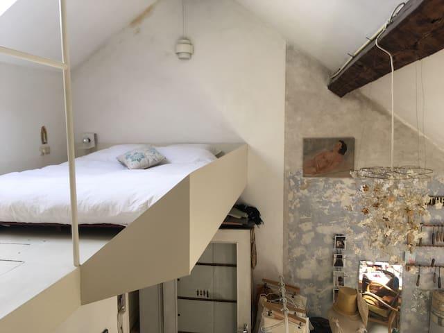 Chambre sur mezannine