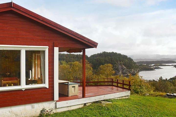 5 person holiday home in rubbestadneset