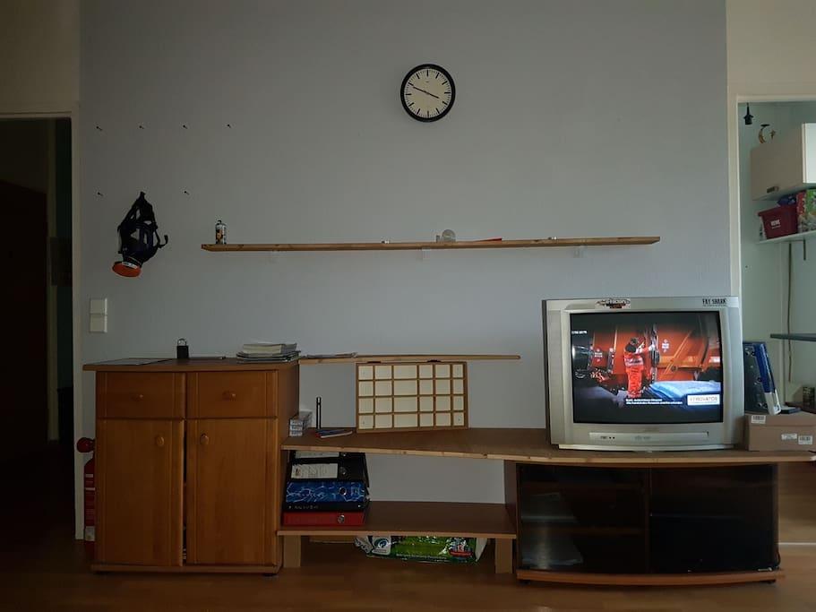 Wohnzimmer Schrankwand, Stauraum & TV