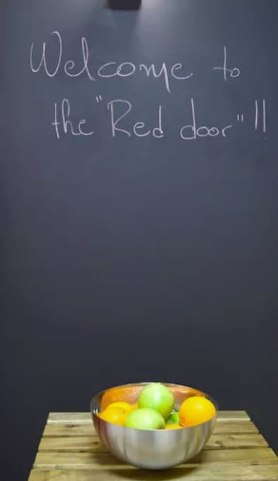 Welcome to The Red Door