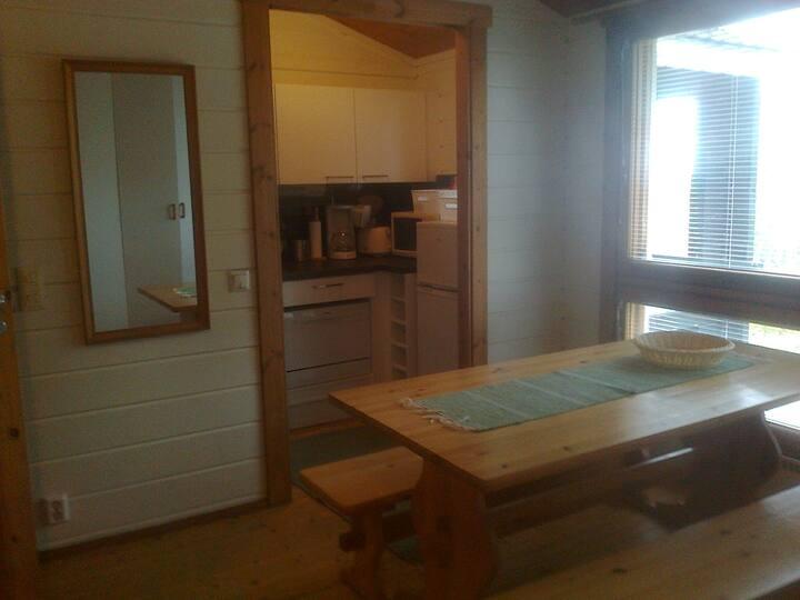 cottage for 4-5 person in skicenter Riihivuori