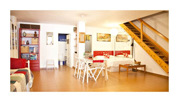 Loft/apartment Albaicin w Parking