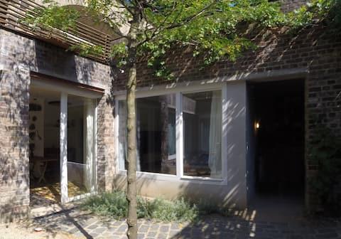 Apartment in der mittelalterlichen Stadtmauer