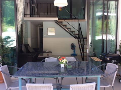 Blue Moon House 3 soveværelser Koh Samet. Sovepladser 7