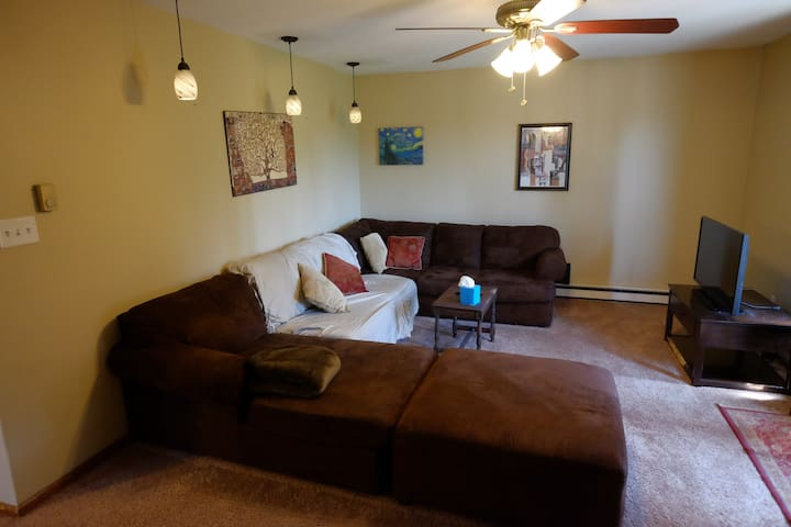 2 Bedroom in middle of Albany, Central Air+Parking - Albany - Daire