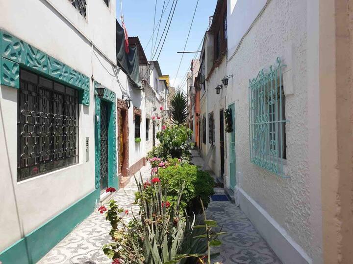 Habitacion en antigua quinta en Miraflores