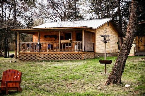 Liberty luxury cabin on Collier creek