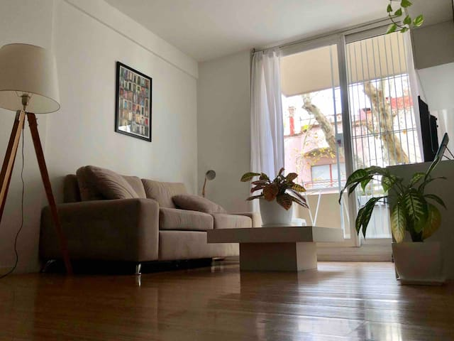 Cozy Nordic style flat in the heart of Belgrano