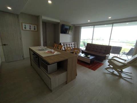 Exclusivo apartamentos a pocos metros de la playa