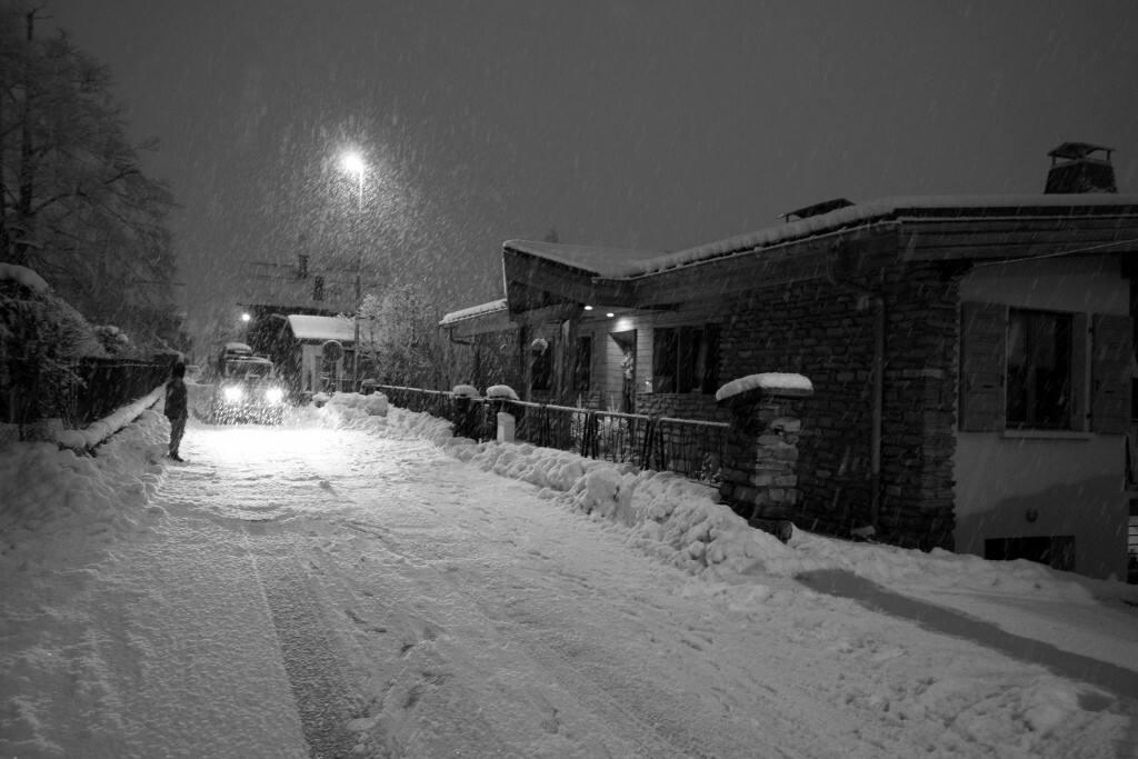 Sleepy and Snowy street