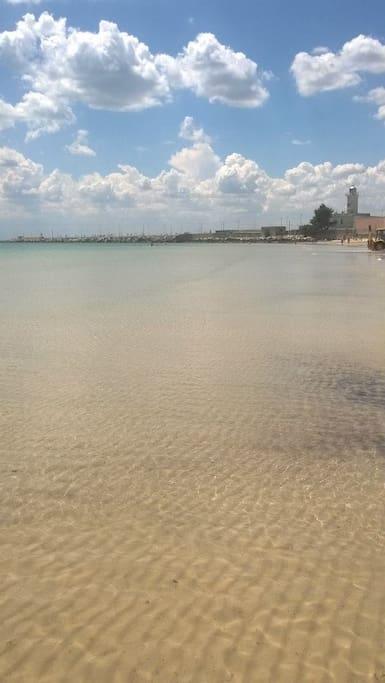 Spiaggia castello - manfredonia