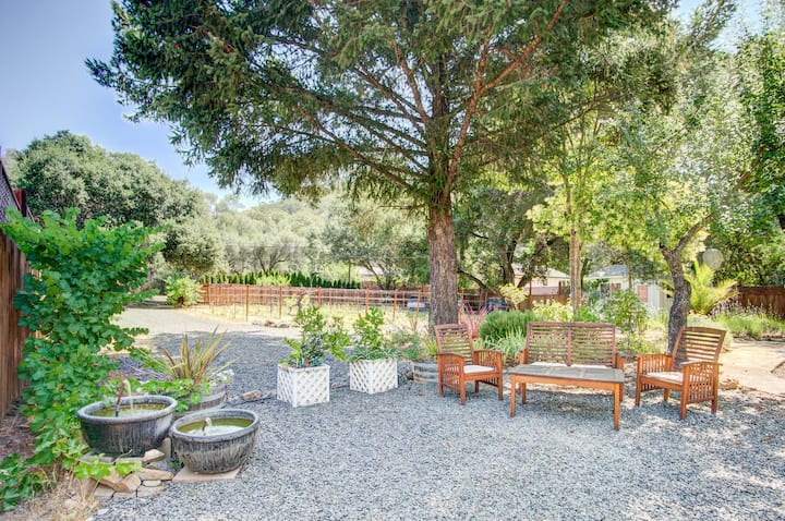 Wine Country Gem with Large Backyard & Grill
