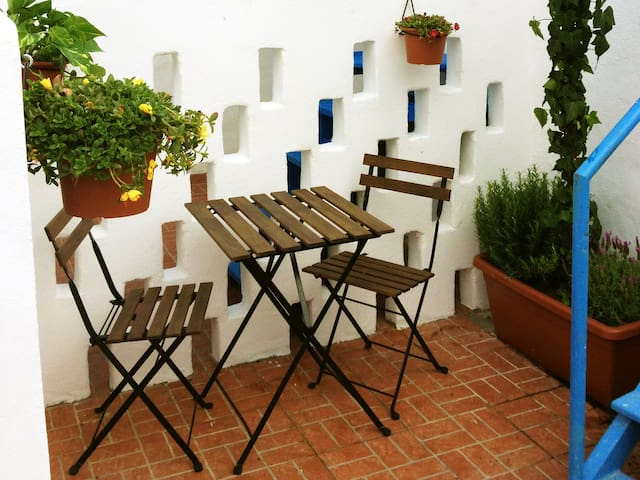 sunny terrasse