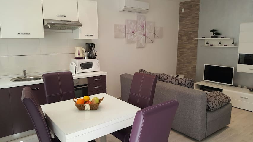 New and cozy Apartment Kresina 2+2, free parking