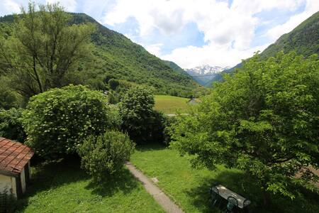 Proche site randonnée et vue montagnes