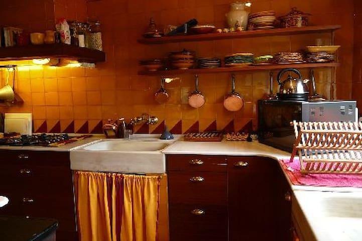 maison de charme grand confort en pleine nature - Olsón - Dom