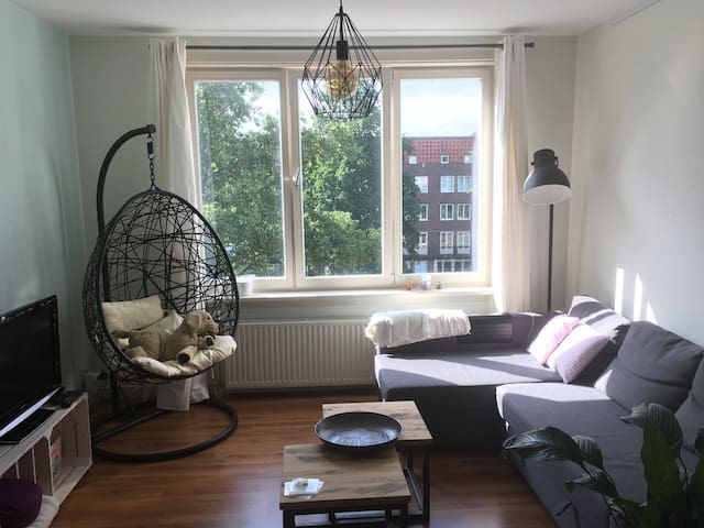 Beautiful bright apartment with canal view! - Amsterdam - Apartemen