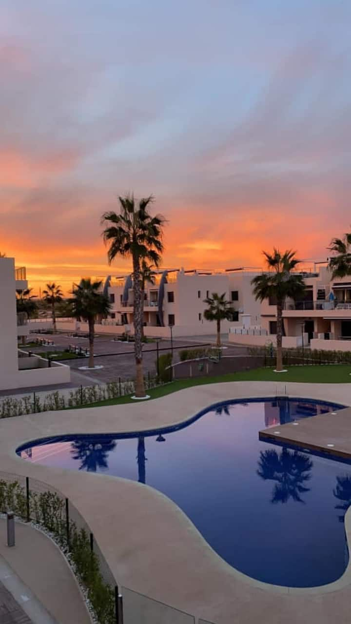 Lovely apartment in Mil-Palmeras ( Torrevieja )
