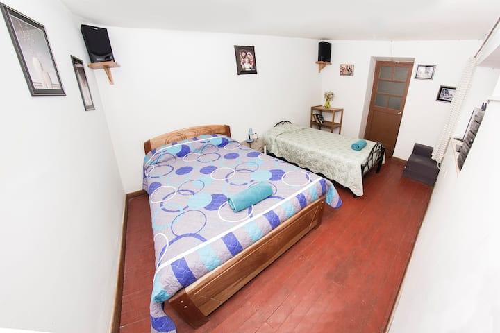 Habitación doble privada en Cusco
