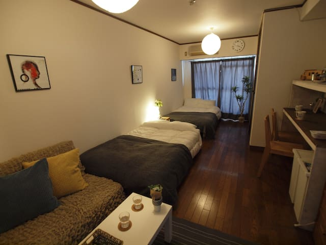 Near Namba! JR imamiya sta 3 mins walk!#PH4F - Nishinari-ku, Ōsaka-shi - Apartment