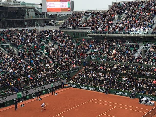Studio Paris Roland Garros