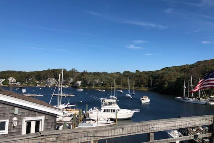 Eel Pond Woods Hole, Sail & Stay!