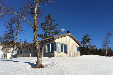 Norefjell panoramic mountain cabin - Norefjell
