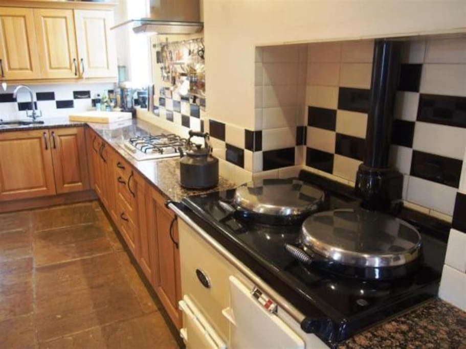 Use of house kitchen