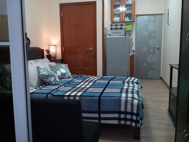 Cozy Studio Unit Near Burnham Park - Unit Verde - Baguio