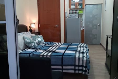 Cozy Studio Unit Near Burnham Park - Unit Verde - Kondominium