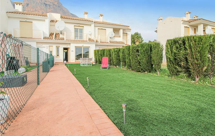 Terraced house with 2 bedrooms on 60m² in Polop de la Marina