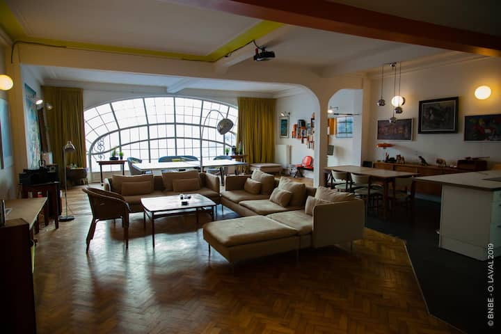 Superb Loft ⭐ Right in the ❤️ of Brussels +Terrace