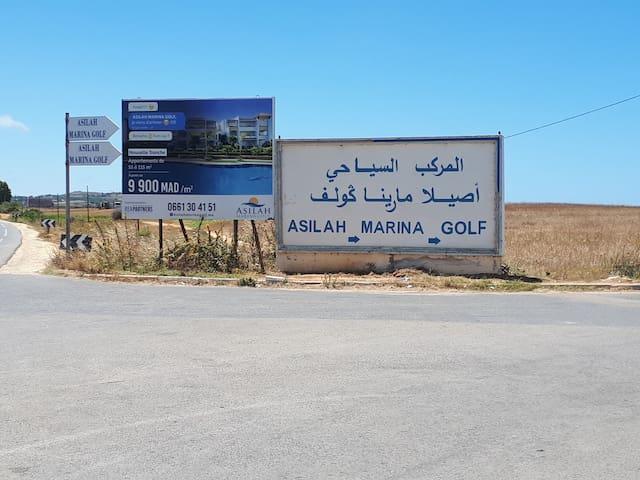 Assilah Marina golf 6 personnes