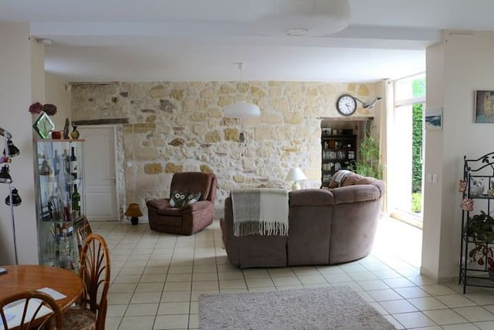 2 big rooms with bathroom near Paris (Maurecourt) - Maurecourt - Maison