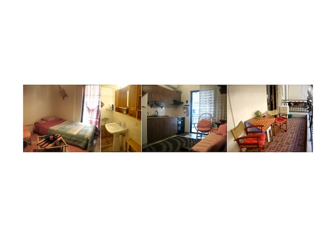 Cozy entire apartment 40m² - Tessalónica - Apartamento