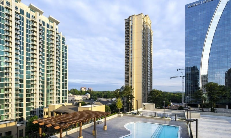 ♥️♥️Amazing Lovely High Rise Home In Buckhead Atl