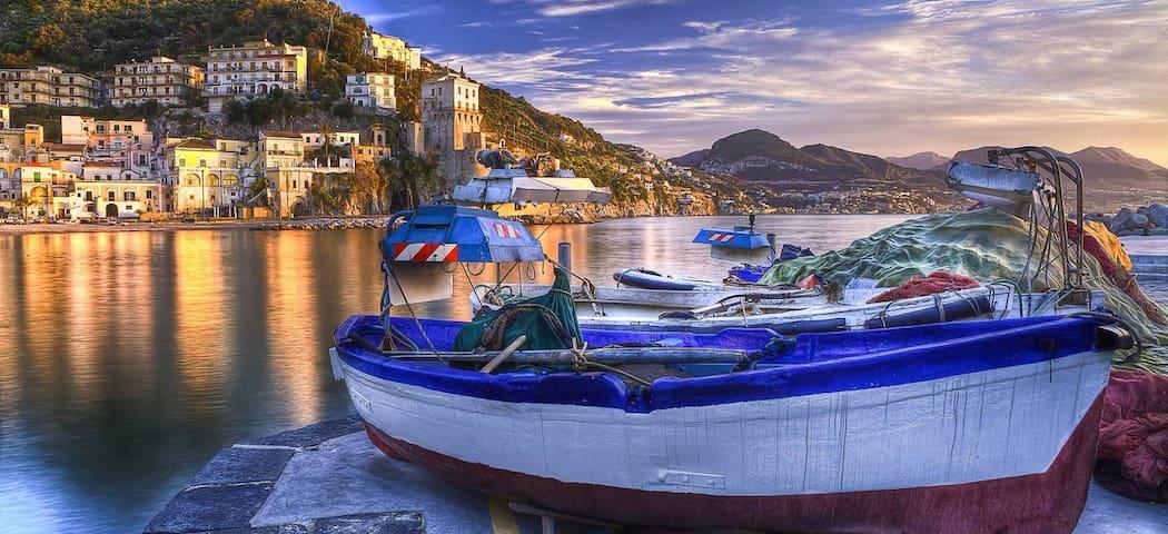 Cetara, cuore autentico della Costiera Amalfitana! - Cetara - Dům