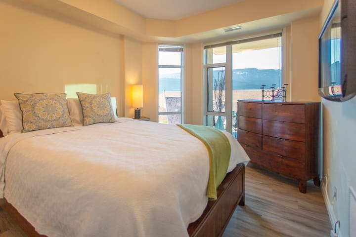 The Master Suite has Large Windows that allow for Natural Light