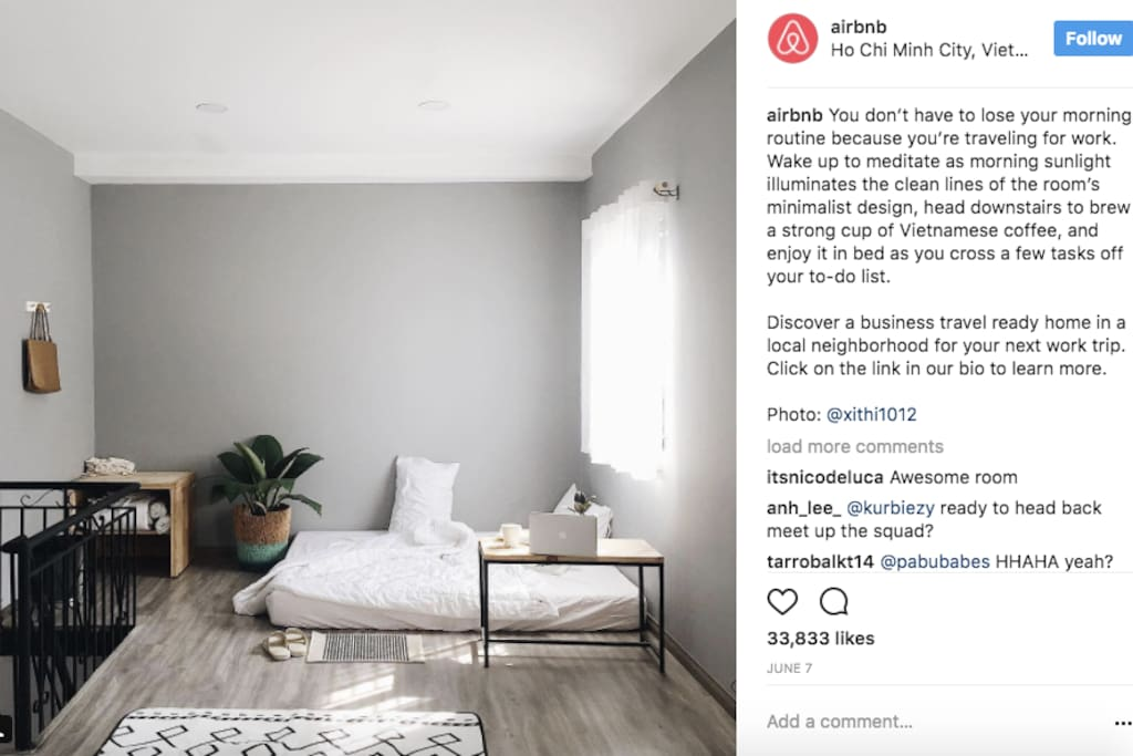Omg It's so amazing that my house was featured on @airbnb instagram twice!!