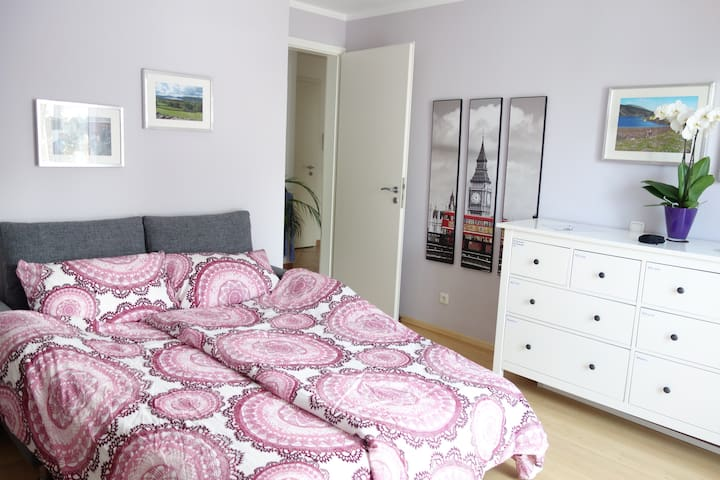Bright & cosy near fair & park, S4/6 in 8min - Haar