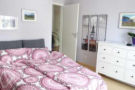 Bright & cosy near fair & park, S4/6 in 8min - Haar - Wohnung