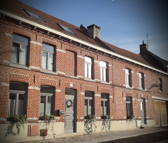 House at 15 mn Lille and 7 mn of villeneuve d ascq